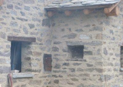 muro in sasso cemento